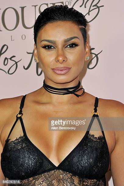 Personality Laura Govan attends the House of CB Flagship Store Launch party at the House of CB on June 14 2016 in West Hollywood California