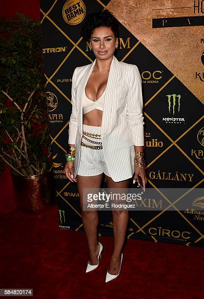 TV personality Laura Govan attends the Maxim Hot 100 Party at the Hollywood Palladium on July 30 2016 in Los Angeles California