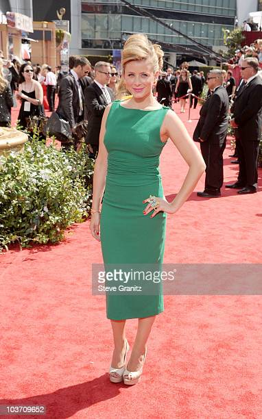 Personality Lauren Bosworth arrives at the 62nd Annual Primetime Emmy Awards held at the Nokia Theatre LA Live on August 29 2010 in Los Angeles...