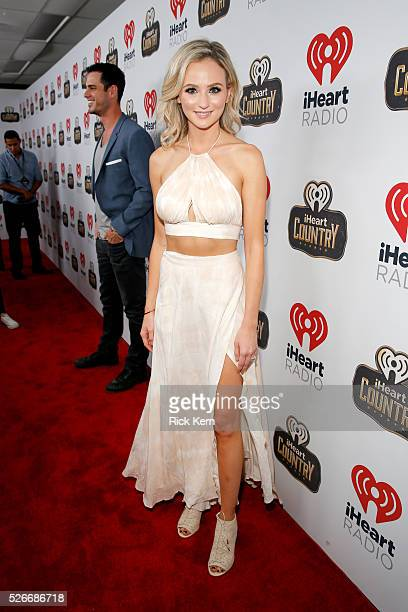TV personality Lauren Bushnell attends the 2016 iHeartCountry Festival at The Frank Erwin Center on April 30 2016 in Austin Texas