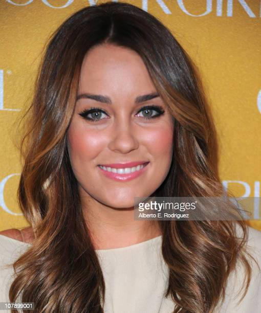 TV personality Lauren Conrad arrives to Covergirl Cosmetic's 50th Anniversary Party on January 5 2011 in West Hollywood California