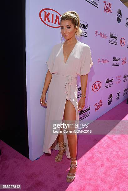 TV personality Lauren Elizabeth attends the 2016 Billboard Music Awards at TMobile Arena on May 22 2016 in Las Vegas Nevada