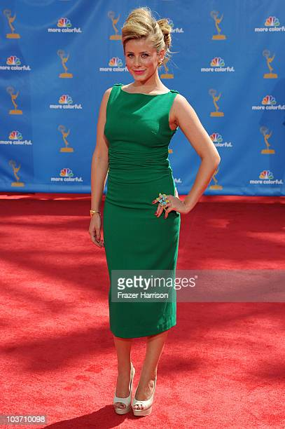 TV personality Lauren 'Lo' Bosworth arrives at the 62nd Annual Primetime Emmy Awards held at the Nokia Theatre LA Live on August 29 2010 in Los...