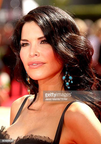 TV personality Lauren Sanchez arrives at the 61st Primetime Emmy Awards held at the Nokia Theatre on September 20 2009 in Los Angeles California