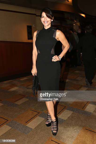 TV personality Lauren Sanchez attends Hugh Jackman One Night Only Benefiting MPTF at Dolby Theatre on October 12 2013 in Hollywood California