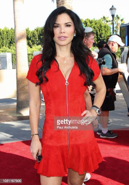Personality Lauren Sanchez attends the 25th anniversary celebration of Extra at Universal Studios Hollywood on September 10 2018 in Universal City...