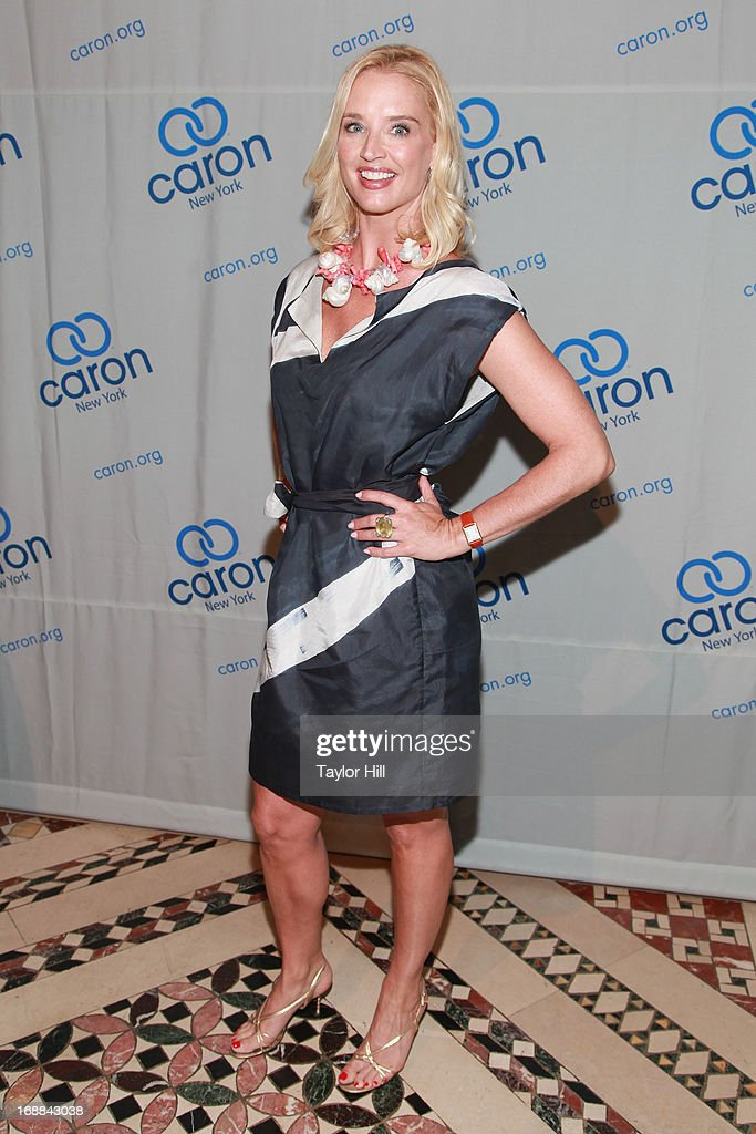TV personality Laurie Dhue attends the 2013 Caron New York Gala at Cipriani 42nd Street on May 15, 2013 in New York City.
