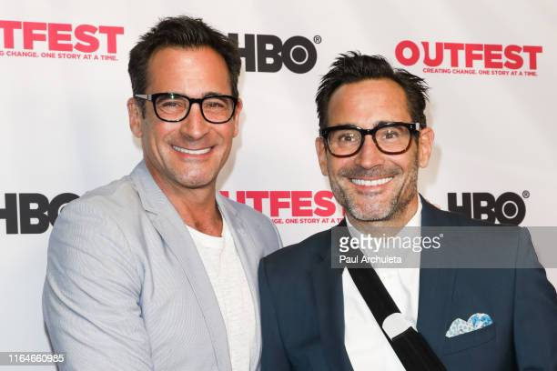 Personality Lawrence Zarian and Actor Gregory Zarian attend the screening of From Zero To I Love You at the 2019 Outfest Los Angeles LGBTQ Film...