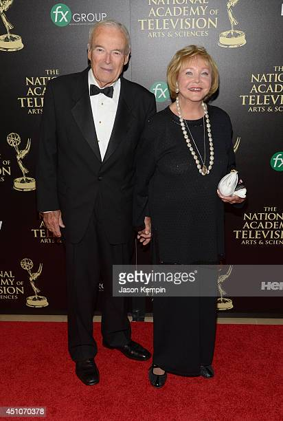 TV personality Lee Phillip Bell and guest attend The 41st Annual Daytime Emmy Awards at The Beverly Hilton Hotel on June 22 2014 in Beverly Hills...