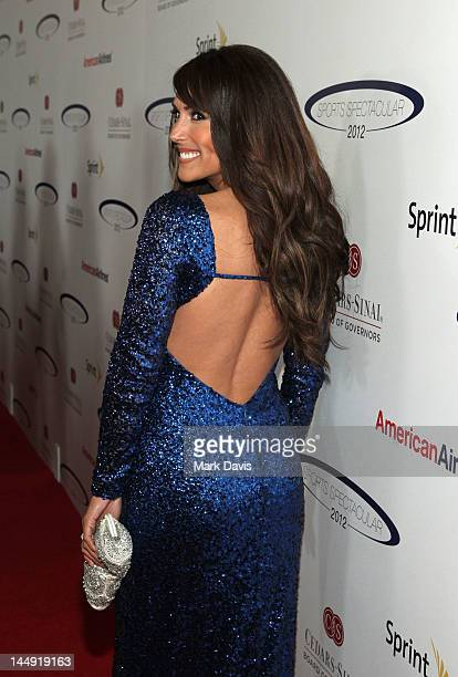 TV personality Leeann Tweeden arrives at the 27th Anniversary Sports Spectacular benefiting CedarsSinai Medical Genetics Institute at the Hyatt...