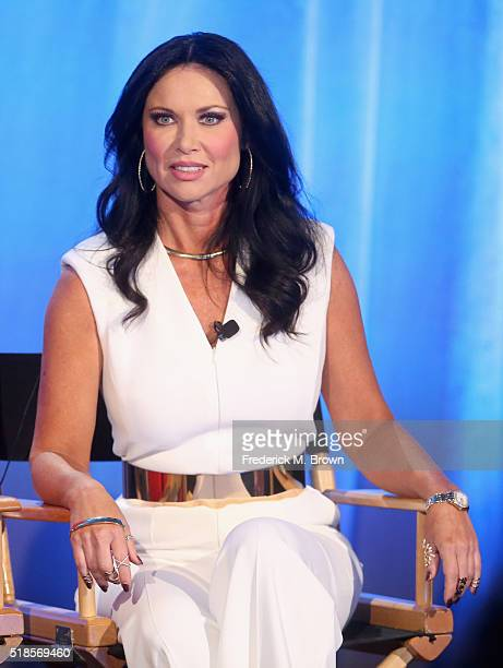 Personality LeeAnne Locken speaks onstage during the 'The Real Housewives of Dallas' panel at the 2016 NBCUniversal Summer Press Day at Four Seasons...