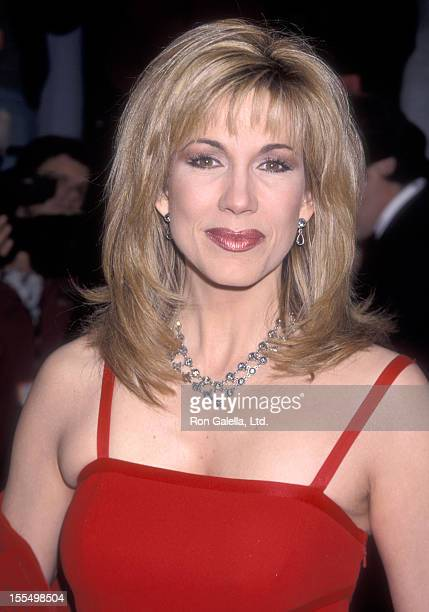 TV personality Leeza Gibbons attends the 14th Annual American Comedy Awards on February 6 2000 at Shrine Exposition Center in Los Angeles California