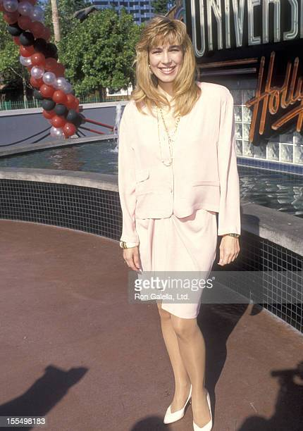 Personality Leeza Gibbons attends the Grand Opening Celebration of the New Universal Studios Theme Park Attraction - Fievel's Playground on May 24,...