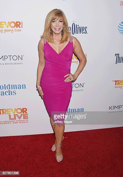 TV personality Leeza Gibbons attends the TrevorLIVE Los Angeles 2016 Fundraiser at the Beverly Hilton Hotel on December 04 2016 in Beverly Hills...