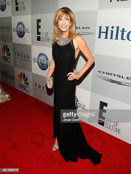 TV personality Leeza Gibbons attends Universal NBC Focus Features and E Entertainment 2015 Golden Globe Awards After Party sponsored by Chrysler and...