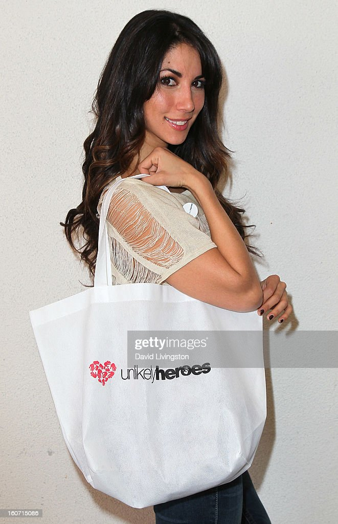 TV personality Leilani Dowding attends the Anti-Human Trafficking Family Charity Luncheon in support of Unlikely Heroes at the Veggie Grill on February 4, 2013 in Los Angeles, California.