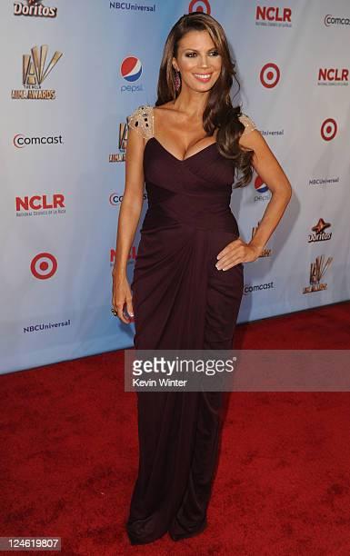 Personality Lianna Grethel arrives at the 2011 NCLR ALMA Awards held at Santa Monica Civic Auditorium on September 10, 2011 in Santa Monica,...