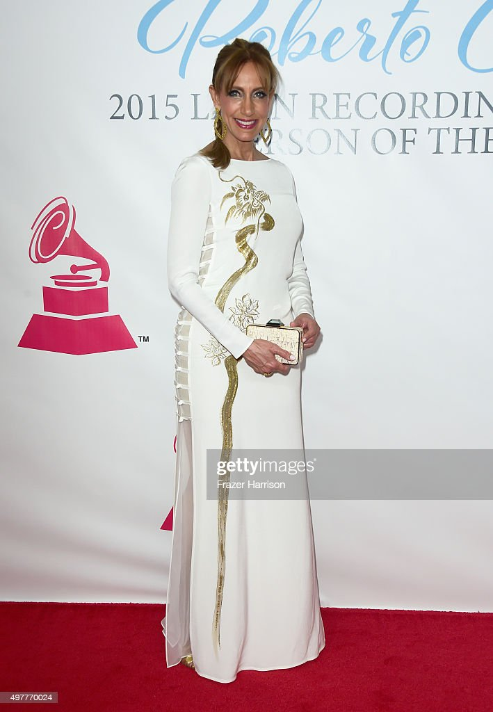 TV personality Lili Estefan attends the 2015 Latin GRAMMY Person of the Year honoring Roberto Carlos at the Mandalay Bay Events Center on November 18, 2015 in Las Vegas, Nevada.