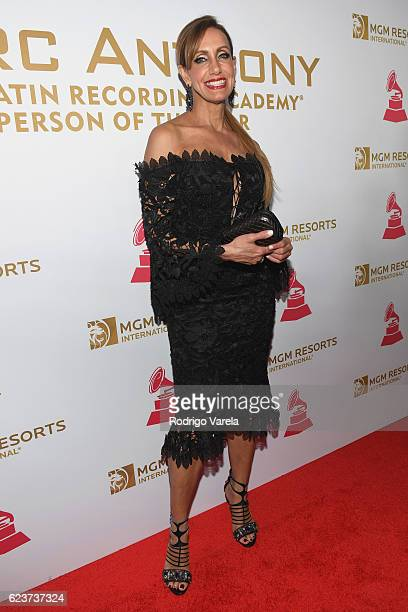 TV personality Lili Estefan attends the 2016 Person of the Year honoring Marc Anthony at the MGM Grand Garden Arena on November 16 2016 in Las Vegas...