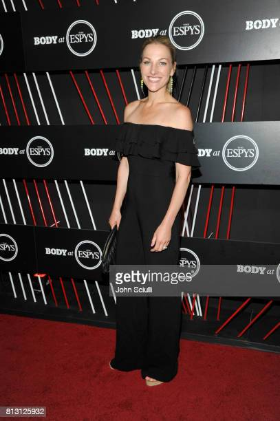 TV personality Lindsay Czarniak at BODY at ESPYS at Avalon on July 11 2017 in Hollywood California