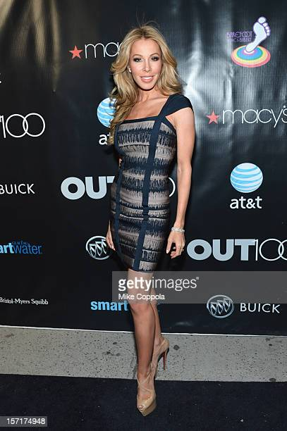 Personality Lisa Hochstein attends OUT Magazine and Buick's celebration of The OUT100 on November 29 2012 in New York City