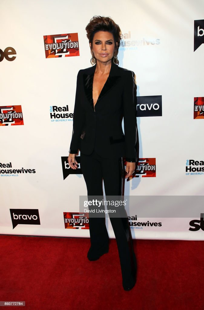 TV personality Lisa Rinna attends the premiere of Bravo's 'The Real Housewives of Beverly Hills' at Doheny Room on December 15, 2017 in West Hollywood, California.