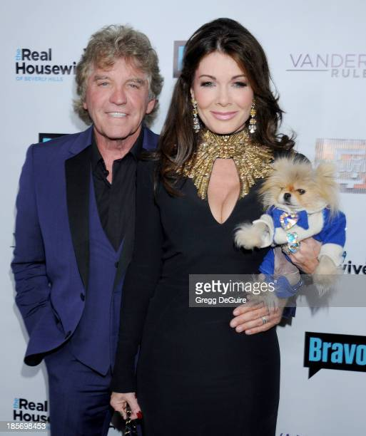 TV personality Lisa Vanderpump and husband Ken Todd arrive at 'The Real Housewives Of Beverly Hills' And 'Vanderpump Rules' premiere party at...