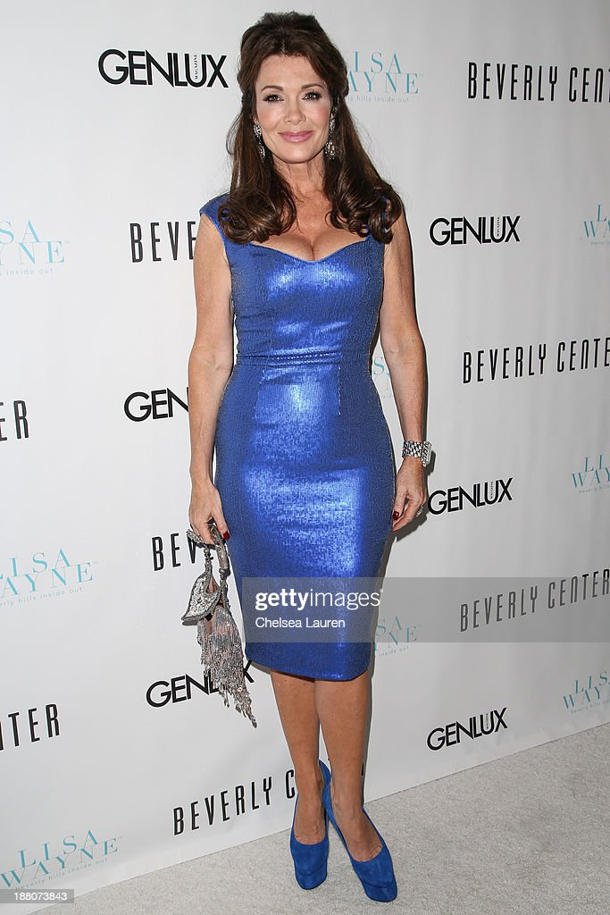 TV personality Lisa Vanderpump arrives at the Genlux new issue launch party hosted by Lisa Vanderpump on November 14, 2013 in Beverly Hills, California.