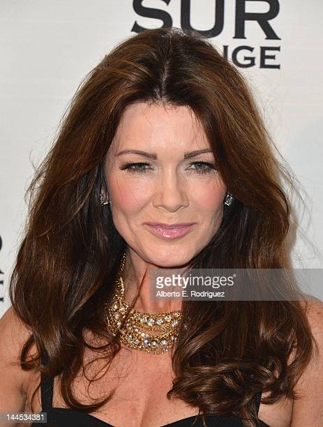 TV personality Lisa Vanderpump arrives to Bravo Media's celebration of the book release of Andy Cohen's 'Most Talkative Stories From The Front Lines...