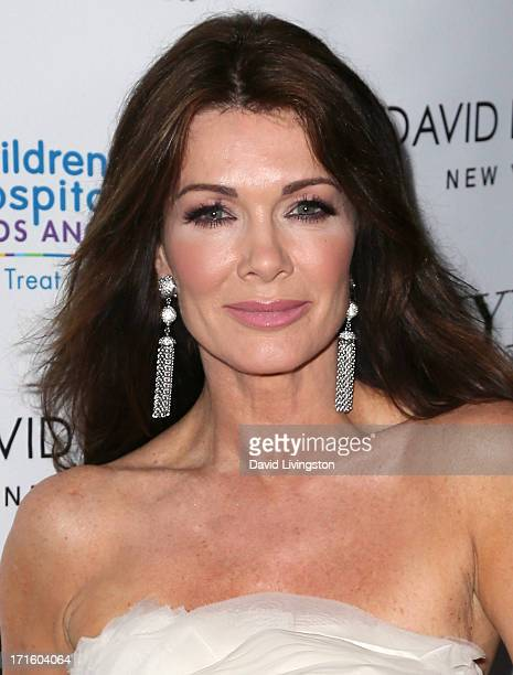 TV personality Lisa Vanderpump attends a fashion fundraiser benefitting Children's Hospital of Los Angeles hosted by Kyle Richards at Kyle by Alene...