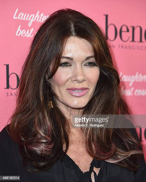 TV personality Lisa Vanderpump attends Benefit Cosmetic's 1st Annual National Wing Women Weekend VIP Launch at Space 15 Twenty on September 26 2014...