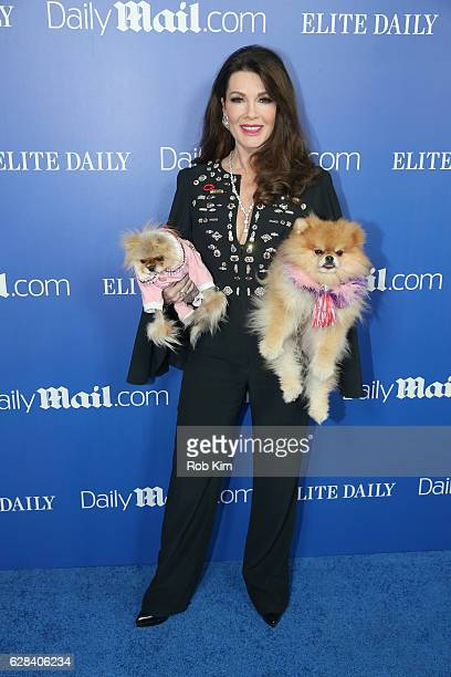 Personality Lisa Vanderpump attends DailyMailcom Elite Daily Holiday Party with Jason Derulo at Vandal on December 7 2016 in New York City