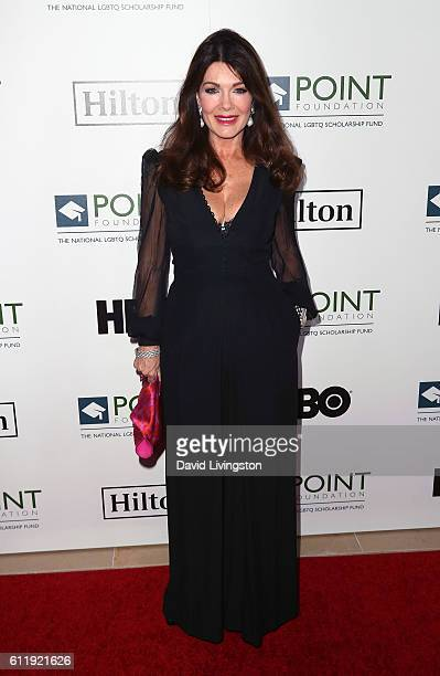 TV personality Lisa Vanderpump attends the 2016 Point Honors Los Angeles Gala at The Beverly Hilton Hotel on October 1 2016 in Beverly Hills...