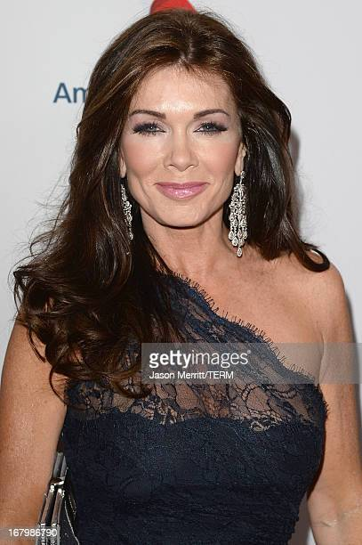 Personality Lisa Vanderpump attends the 20th Annual Race To Erase MS Gala Love To Erase MS at the Hyatt Regency Century Plaza on May 3 2013 in...
