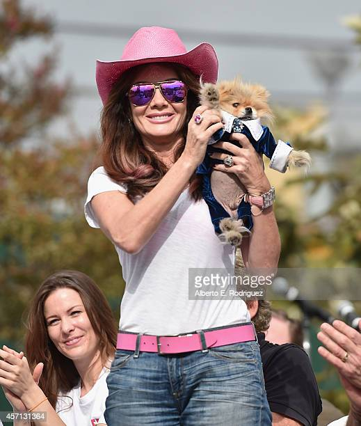 TV personality Lisa Vanderpump attends the 30th Annual AIDS Walk Los Angeles on October 12 2014 in West Hollywood California