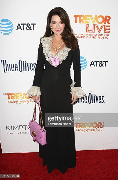 TV personality Lisa Vanderpump attends The Trevor Project's 2016 TrevorLIVE LA at The Beverly Hilton Hotel on December 4 2016 in Beverly Hills...