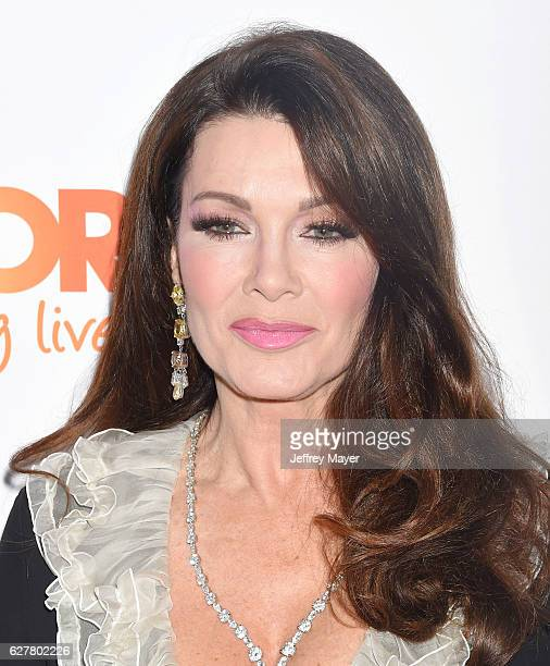 TV personality Lisa Vanderpump attends the TrevorLIVE Los Angeles 2016 Fundraiser at the Beverly Hilton Hotel on December 04 2016 in Beverly Hills...