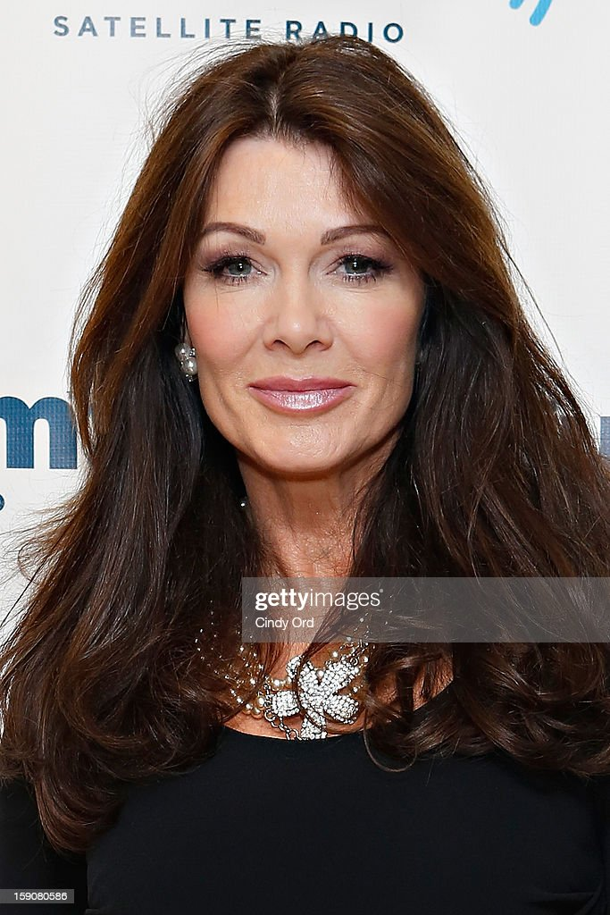 TV personality Lisa Vanderpump visits the SiriusXM Studios on January 7, 2013 in New York City.