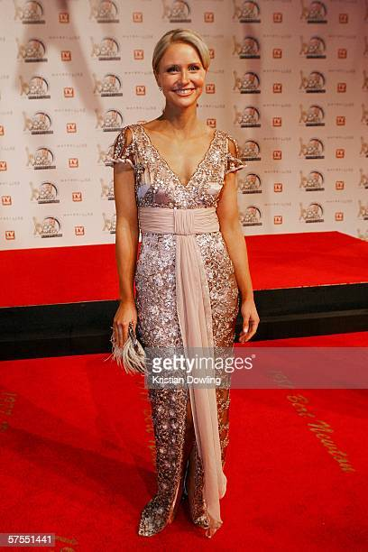 Personality Livinia Nixon arrives at the 48th Annual TV Week Logie Awards at the Crown Entertainment Complex on May 7 2006 in Melbourne Australia