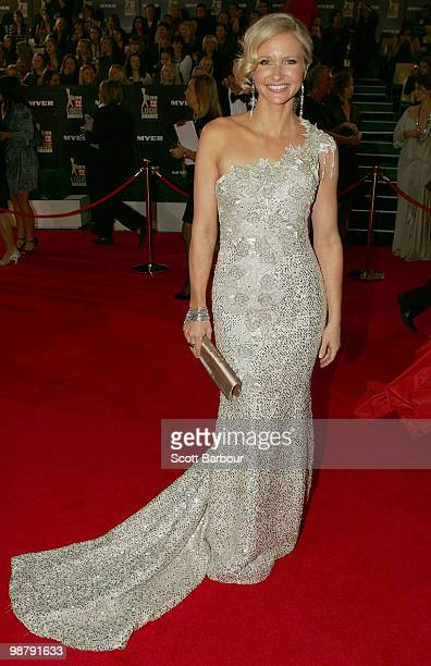 TV personality Livinia Nixon arrives at the 52nd TV Week Logie Awards at Crown Casino on May 2 2010 in Melbourne Australia