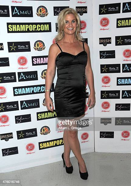Personality Liz Crokin at the Art Exhibition Red Carpet Event Unveiling Of Celeb Selfies Portrait Series By Pop Artist Sham Ibrahim held at Sweet...