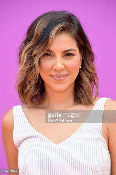 TV personality Liz Hernandez attends Nickelodeon Kids' Choice Sports Awards 2017 at Pauley Pavilion on July 13 2017 in Los Angeles California