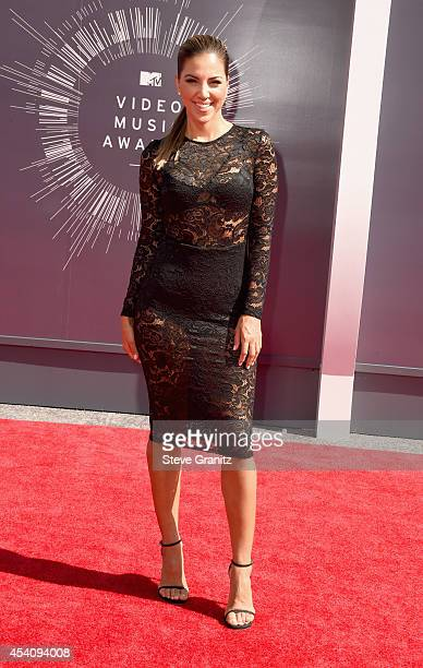 TV personality Liz Hernandez attends the 2014 MTV Video Music Awards at The Forum on August 24 2014 in Inglewood California