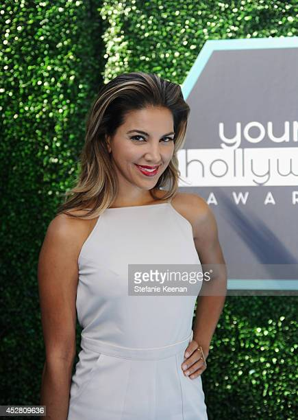 TV personality Liz Hernandez attends the 2014 Young Hollywood Awards brought to you by Samsung Galaxy at The Wiltern on July 27 2014 in Los Angeles...
