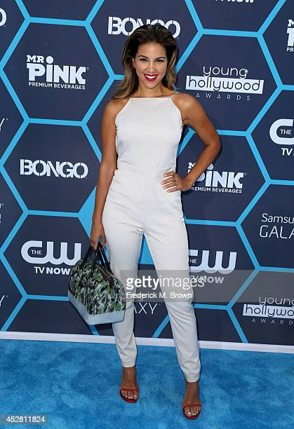 Personality Liz Hernandez attends the 2014 Young Hollywood Awards brought to you by Samsung Galaxy at The Wiltern on July 27 2014 in Los Angeles...