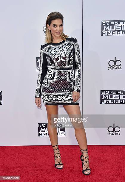 TV personality Liz Hernandez attends the 2015 American Music Awards at Microsoft Theater on November 22 2015 in Los Angeles California