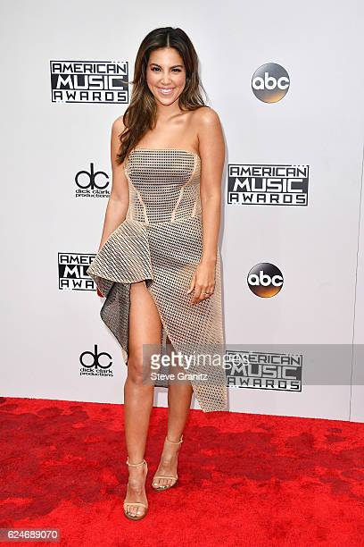 TV personality Liz Hernandez attends the 2016 American Music Awards at Microsoft Theater on November 20 2016 in Los Angeles California