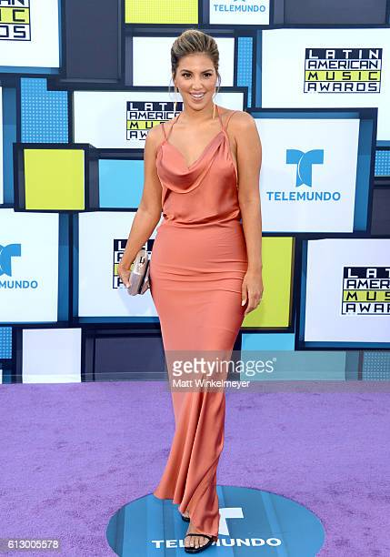 TV personality Liz Hernandez attends the 2016 Latin American Music Awards at Dolby Theatre on October 6 2016 in Hollywood California