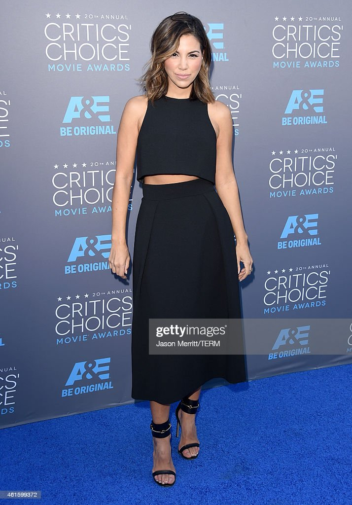 TV personality Liz Hernandez attends the 20th annual Critics' Choice Movie Awards at the Hollywood Palladium on January 15, 2015 in Los Angeles, California.