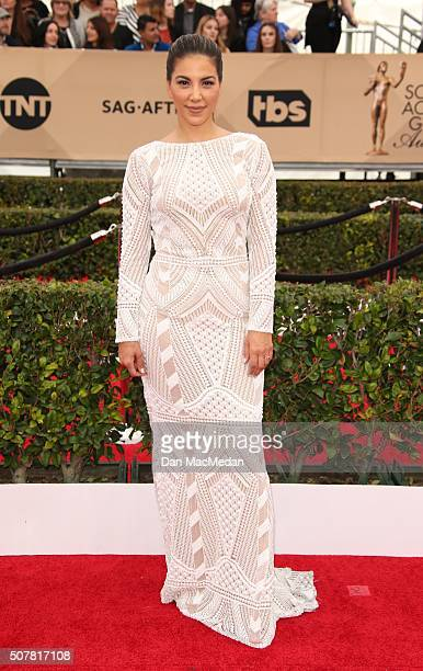 TV personality Liz Hernandez attends the 22nd Annual Screen Actors Guild Awards at The Shrine Auditorium on January 30 2016 in Los Angeles California